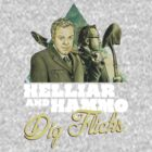 Helliar and Hammo Dig Flicks by James Fosdike