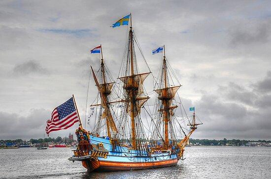 Kalmar Nyckel___The Tall Ship of Delaware by Poete100