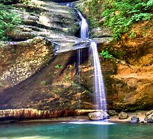 Hocking Hills Lower Falls by njordphoto
