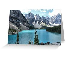 Moraine Lake, Banff National Park Greeting Card