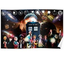 Eleven Doctors Poster