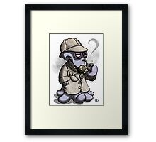 Sherlocktopus Framed Print