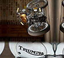 Triumph Bonneville - iPhone Case by HoskingInd