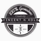 Vincent H. Kolb Promo Design- Black by vhkolb