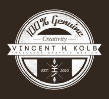 Vincent H. Kolb Promo Design- White by vhkolb