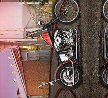 Nathan's Harley Davidson - iPhone Case by HoskingInd
