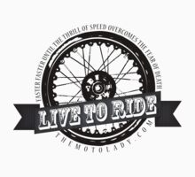 Live to Ride Wheel (Light Colors) by motolady