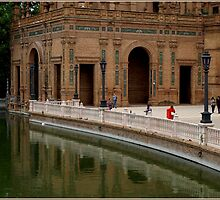 Plaza de Espana by Janone