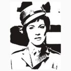 Julie Andrews In Uniform by Museenglish