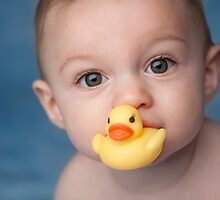 Rubber Ducky and Baby Boy by Kathryn Thomas