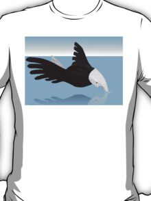 Osprey touching his reflection T-Shirt