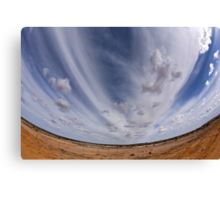 Fish-Eye Fun Canvas Print