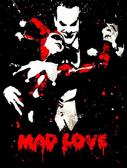 Mad Love splatter by justin13art