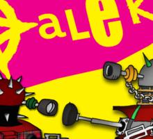 The Punk Daleks  Sticker