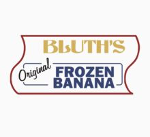 Bluth's Frozen Banana Logo by reens55
