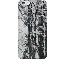 Specks of Light, mixed media on canvas iPhone Case/Skin