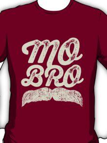 MOVEMBER - Mo Bro White T-Shirt