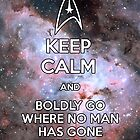 Keep Calm and Star Trek I by GabrielaBeltram