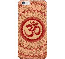 om mandala (liáliom) iPhone Case/Skin