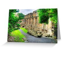 Dunfermline Palace Greeting Card