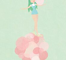 A series of make believe - bubblegum girl by littlelemon