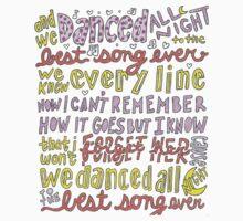 Best Song Ever Lyrics Kids Clothes