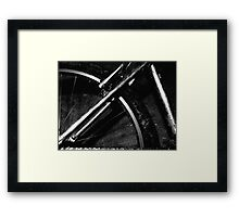 spin me round the tyre baby Framed Print