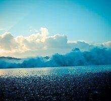 Crashing Waves at Sunrise by dapedwa
