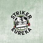 Striker Eureka iPhone Case by TheBatchild