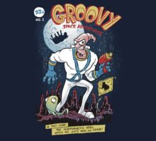 Groovy Space Adventures T-Shirt