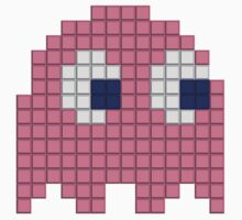 Pac-Man Pink Ghost Kids Clothes
