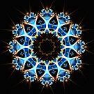 Blue Phoenix II by Hugh Fathers