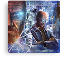 Heisenberg - No looking back for Walter White Canvas Print