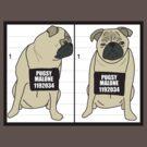 Pugsy Malone - PUGSHOT by stevebluey