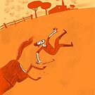 the unfortunate horseman by Theo Kerp
