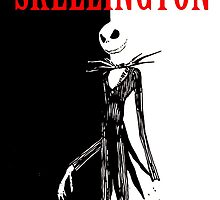 Jack Skellington Scarface by justin13art
