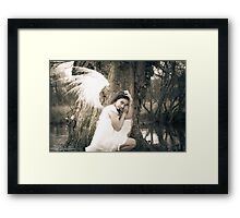 Zoe at the Reserve 03 Framed Print