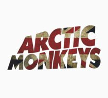Arctic Monkeys Union Jack by Florian Weichelt
