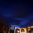 Knaresborough Viaduct at Night by eatsleepdesign