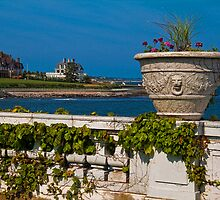 USA. Rhode Island. Newport. View from the grounds of Rosecliff. by vadim19