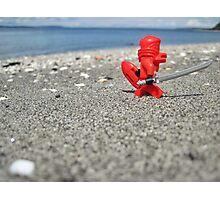 Ninja lifeguard Photographic Print