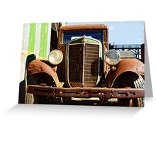 International Truck Greeting Card