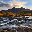 Sgurr Nan Gillean. Sligachan. Isle of Skye. Scotland. by photosecosse /barbara jones