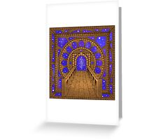 Infinity Gate (órvio) Greeting Card