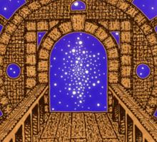 Infinity Gate (órvio) Sticker