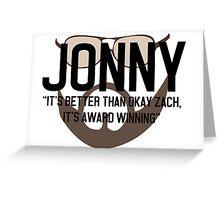 Jonny Greeting Card