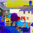 Portmeirion - False Colour by Kevin Cartwright
