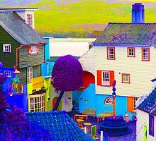 Portmeirion - False Colour by Kevin Cartwright