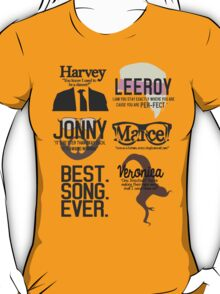 Best Song Ever Characters T-Shirt