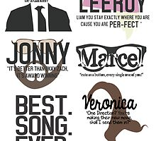 Best Song Ever Characters by samonstage